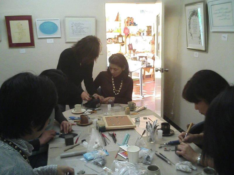 アトリエUn-Petit-Coin シルバーアクセサリー体験教室