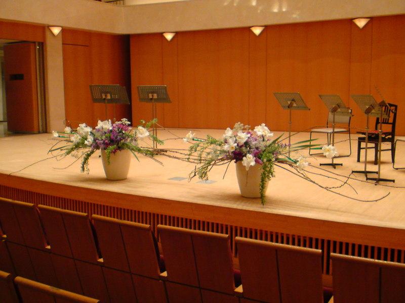 舞台のお花