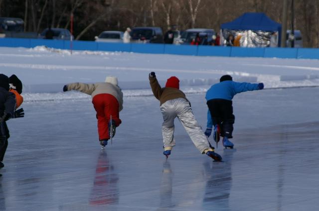こどもたちのスケート
